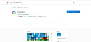 best free chrome extensions colorzilla