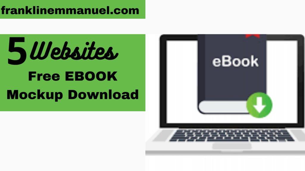 e-book mockup free download