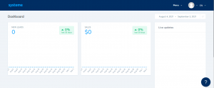 how to create a free landing page system dashboard