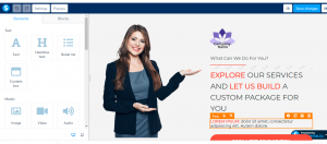 how to create a free landing page edittemp