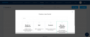 how to create a free landing page name