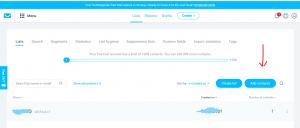 how to set up getresponse autoresponder createlist